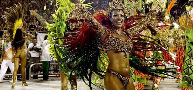 Бразильская самба